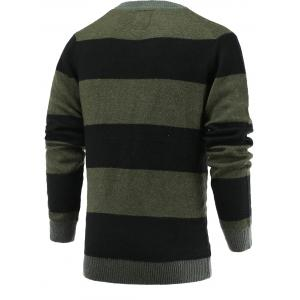 Color Blocks Spliced Sweater -