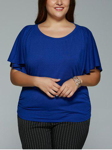 Shop Plus Size Short Sleeve Loose T-Shirt