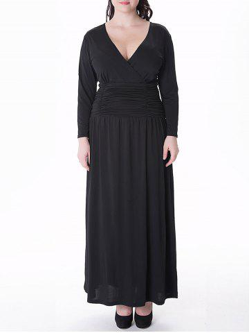 Plus Size Prom Dresses - Black, Red And Long Sleeve Cheap With Free ...