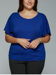 Plus Size Short Sleeve Loose T-Shirt