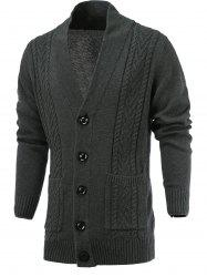 Single Breast Loose Fittting Cardigan -