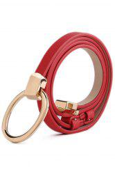 Ring Buckle Belt -