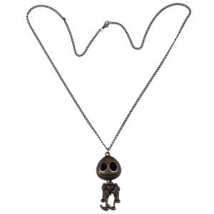 Carving Skull Robot Sweater Chain -