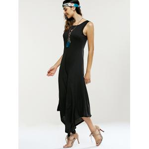 Hollow Out Sleeveless Asymmetrical Jumpsuit -