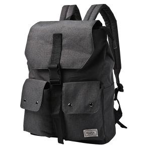 Casual Pocket and Canvas Design Backpack For Men -