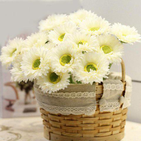 Home Decor 1 Bouquet de Faux Daisy Fleur artificielle