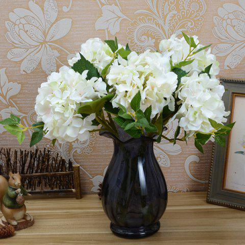 Online Wedding Party Hydrangea Bouquet Artificial Flower