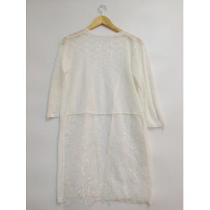 See-Through Lace Spliced Embroidery Cardigan -