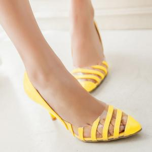 Stiletto Heel Point Toe Pumps -
