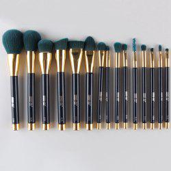 15 Pcs Nylon Facial Eye Makeup Brushes Set