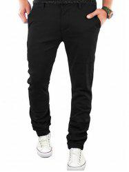 Zipper Flying Casual Straight Leg Pants -
