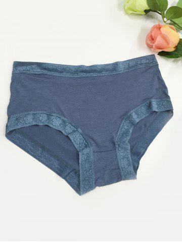 Affordable Laciness Stretchy Briefs