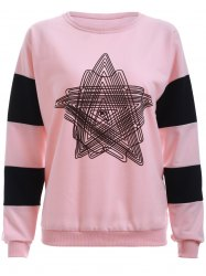 Star Print Long Sleeves T-Shirt