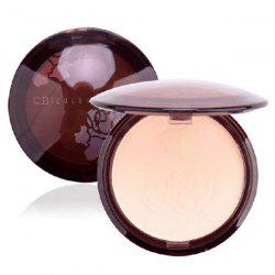 Concealer Flawless Makeup Pressed Powder with Mirror -