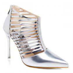 Party Cut Out Pointed Toe Pumps -