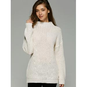 Hollow Out Crochet Sweater -