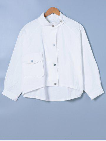Latest Stand Collar Long Sleeve Shirt