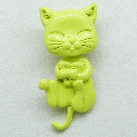 Hot 1PCS Cat Shape Piercing Stud Earring