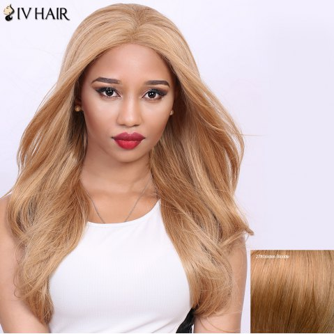 Latest Stunning Real Natural Siv Hair Long Straight Wig