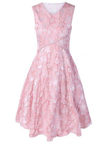 Shop Floral Jacquard Bridesmaid Short Formal A Line Dress