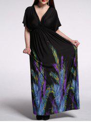 Backless Casual Summer Kimono Maxi Dress