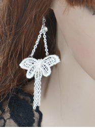 Butterfly Chains Tassel Drop Earrings