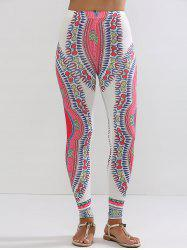 Ethnic Print Slimming Leggings