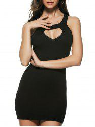 Breast Cut Out Racerback Dress -