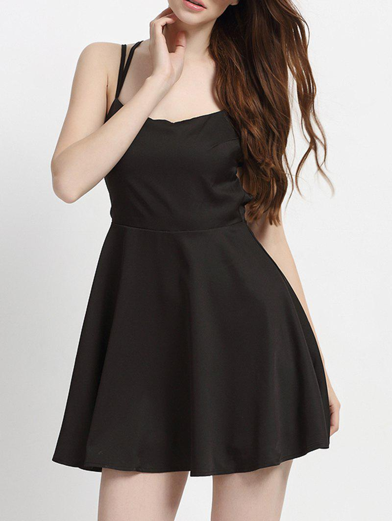Buy Backless Crisscross Strappy A Line Cocktail Dress
