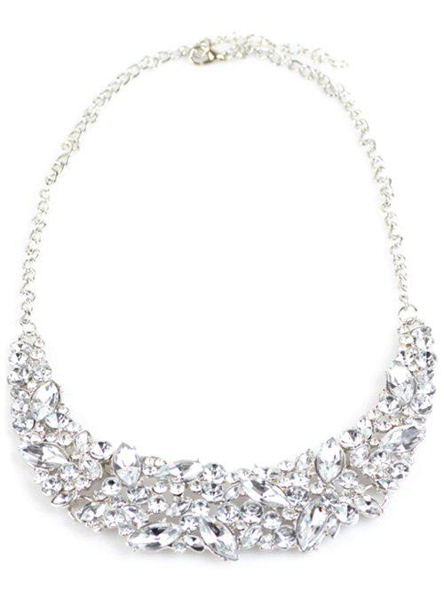 Store Faux Crystal Wedding Necklace