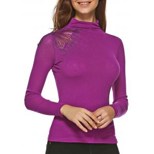 Embroidered Sheath T Shirt