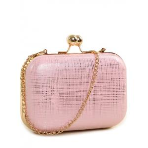 Kiss Lock Chains Evening Bag