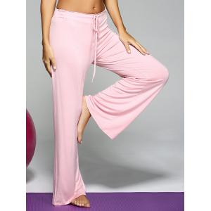 Mid Waist Loose Drawstring Yoga Pants