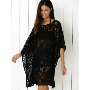 Openwork Lace Cover Up Dress -