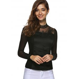Embroidered Pullover T Shirt -