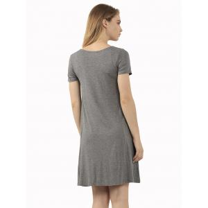 Casual Short Sleeve Affordable Flare T-Shirt Dress -