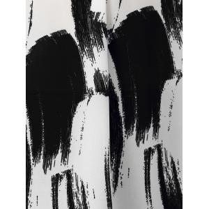 Tie-Dye High Low Hem рубашка -