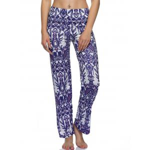 Tribal Print Loose-Fitting Exumas Pants -