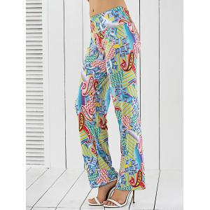 Printed Loose-Fitting Exumas Pants -