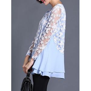 See Through Layered Blouse -
