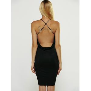 Strappy Backless Club Dress -