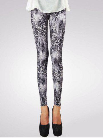 Cheap Chic Leopard Printed Leggings For Women