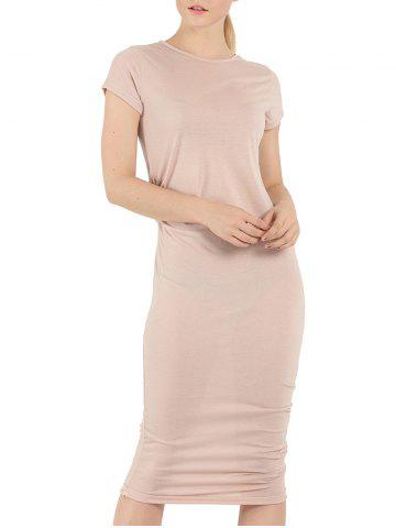 Latest Short Sleeve Affordable Bodycon T-Shirt Dress