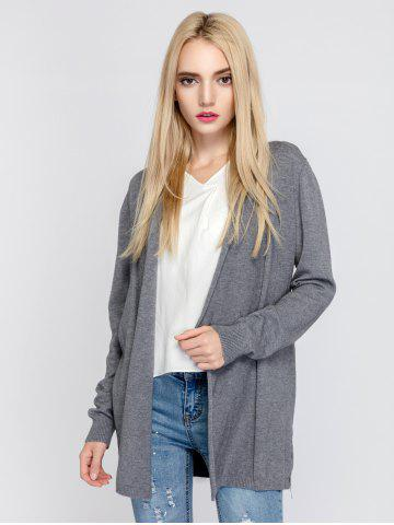 Affordable Simple Style Long Sleeve Cardigan