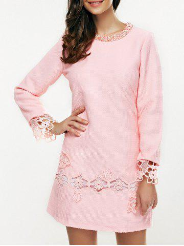 Affordable Beaded Embroidered Mini Dress