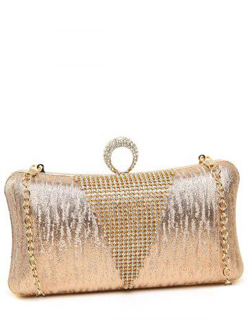 Affordable Clip Chains Ring Rhinestone Evening Bag