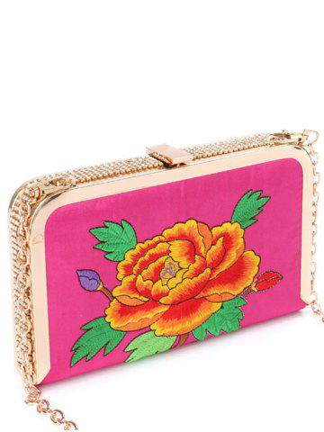 Outfit Rhinestone Flower Embroidered Evening Bag