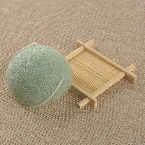 Hot Semisphere Facial Cleansing Sponge GREEN