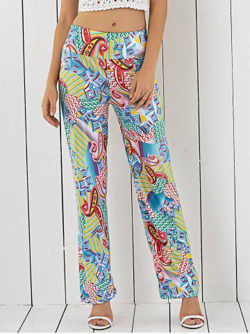 Affordable Printed Loose-Fitting Exumas Pants