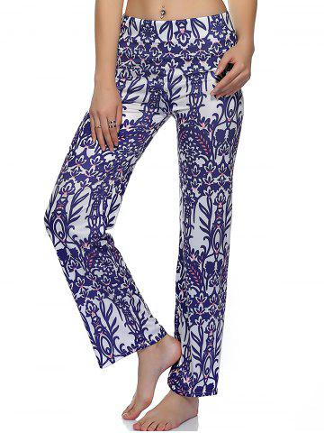 Perfect  LooseFitting Floral Print Women39s Exumas Pants ORANGE M In Pants